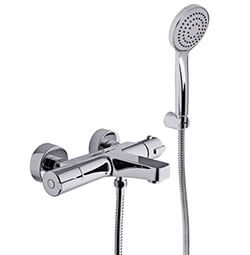 F4074CR - Bath Thermostatic Mixer With Hand Shower