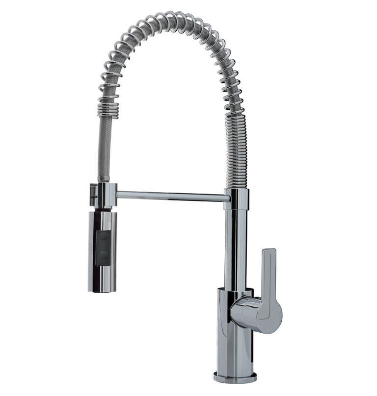 F3547/1CR - Kitchen Mixer with extensible hose