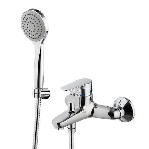F3834CR - Bath Mixer Mixer with Hand Shower