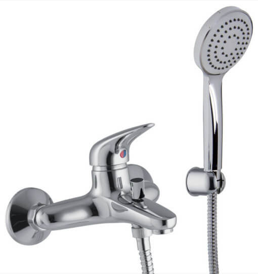 F3284CR - Bath Mixer Mixer with Hand Shower